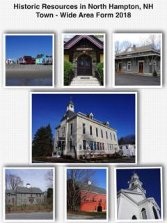 Historic Resources In North Hampton Town Wide Area Form 2018